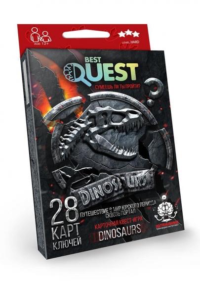 Best+Quest.+%D0%9A%D0%B0%D1%80%D1%82%D0%BA%D0%BE%D0%B2%D0%B0+%D0%BA%D0%B2%D0%B5%D1%81%D1%82-%D0%B3%D1%80%D0%B0.+Dinosaurs - фото 3